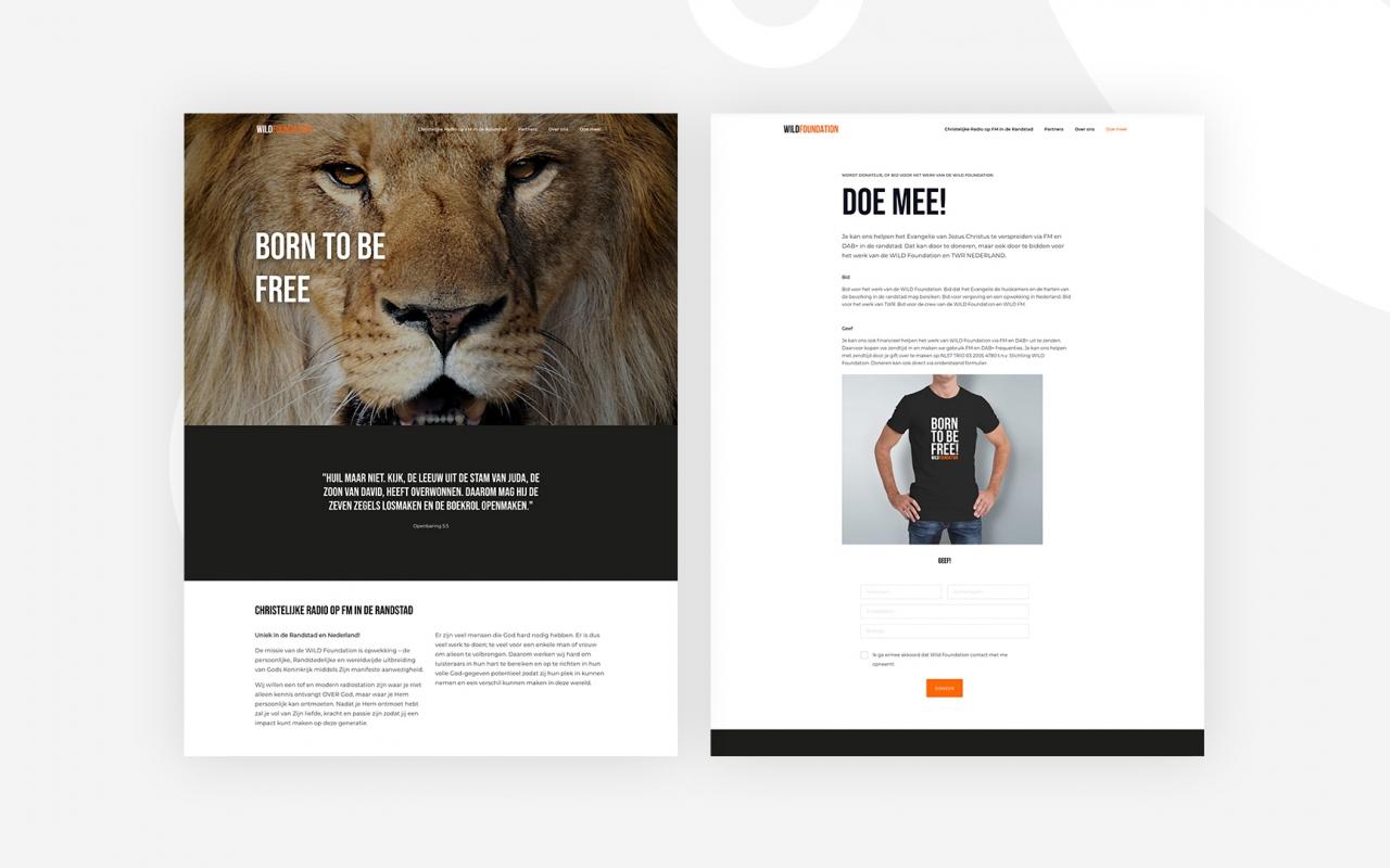 Wild Foundation Website
